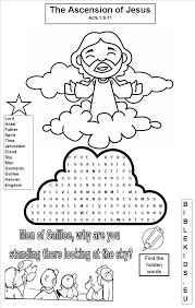 coloring page of jesus ascension transfiguration of jesus christ with elijah and moses coloring page
