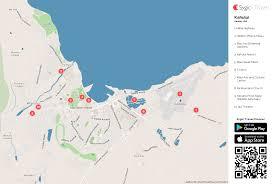 Molokai Map Kahului Printable Tourist Map Sygic Travel