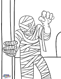 Halloween Coloring Pages Scary Halloween U2013 Coloring Pages U2013 Original Coloring Pages