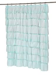 Anthropologie Ruffle Shower Curtain by Amazon Com Carnation Home Fashions Carmen Crushed Voile Fabric