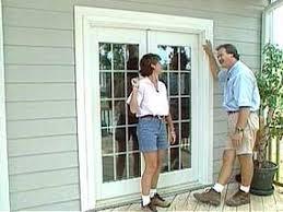 Reliabilt French Patio Doors by Backyards Installing Double Door French Doors Instructions