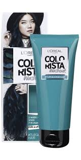How To Wash Hair Color Out - how to wash out blue or green hair dye in one wash aka hairdye