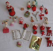 Vintage Deer Christmas Decorations by Vintage Christmas Decoration Ebay