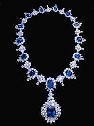 sapphire jewelry necklace images 194 68 carat sapphire diamonds big necklace white gold 14k jpg