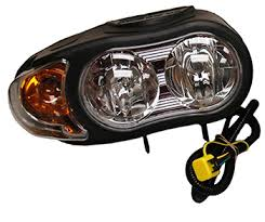 meyer snow plow replacement lights new meyer nite saber iii set right left headlights with modules