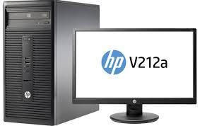 hp ordinateur de bureau ordinateur de bureau hp 280 g1 écran led v212a 20 7pouces
