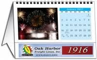 Small Easel Desk Calendar 2018 Personalized Photo Name Small Easel Tent Desk Calendar Black