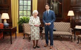 Queen Elizabeth Ii House by Canadian Prime Minister Justin Trudeau Made The Queen Of England