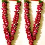 hindu garland flowers for a hindu wedding