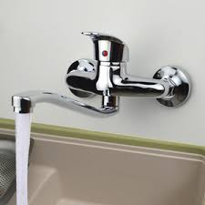wall mounted kitchen faucet rotatable wall mounted kitchen sink faucet
