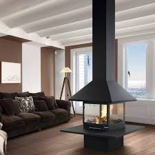 wood burning fireplace traditional closed hearth central