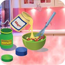 jeux de cuisine salade jeux de cuisine salade de viande jeux de filles applications