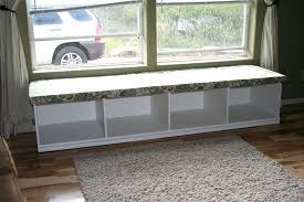 ikea bench hack bay window seat ikea bench window seat simple furniture for bay
