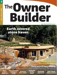 australian owner builder magazine publishes cordwood article
