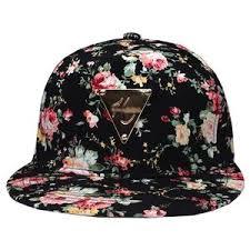 floral snapback stylish floral snapback hat lids loft