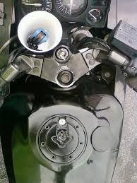 gas tank lock stuck maintenance for gas cap with pics ninjette org