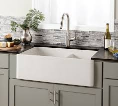 farm apron sinks kitchens farmhouse apron kitchen sinks the home depot within farm sink