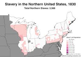 Southern United States Map by Slavery In The Northern United States 1790 1860 U2013 Nick Conway