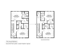 two master bedroom house plans house plan the allendale southern development homes second floor