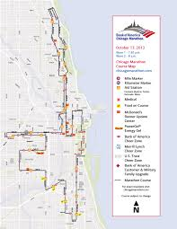 The Bean Chicago Map by The Chicago Marathon Is This Weekend Oinkety