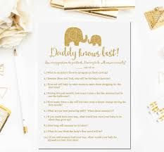 elephant baby shower games daddy knows best game baby shower