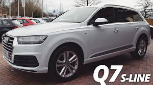audi suv q7 interior 2016 audi q7 s line walk around exterior and interior youtube