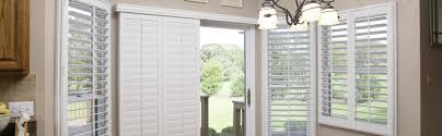 sliding glass door shutters in new york city sunburst shutters