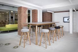 Oak Boardroom Table Contemporary Boardroom Table Oak Laminate Steel Centro By