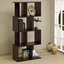 Bookcase Room Dividers by Room Divider Bookcase In Black Oak By Coaster Home Furnishings