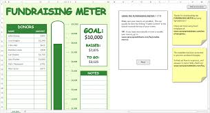 Excel Spreadsheet Examples Fundraising Spreadsheet Template Template