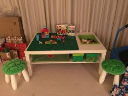 duplo table with chairs ikea hack duplo table for my son trey pinterest