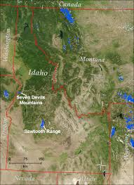 Map Of Missoula Montana by Glaciers Of Idaho Glaciers Of The American West