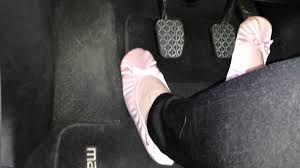 driving 5 speed pedal pumping in isotoner slippers youtube