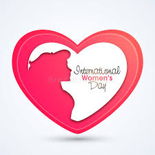 creative images international creative heart for international women s day stock illustration