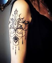 Tattoo Ideas On Shoulder Best 25 Lace Tattoo Ideas On Pinterest Thigh Piece Tattoo