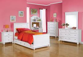 Teenage White Bedroom Furniture Pearl White Finish Twin Size Post Bedroom Set Item 01000t Set This