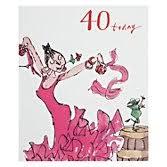buy woodmansterne dancing queen 40th birthday card john lewis