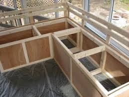 Outdoor Patio Storage Bench Plans by Diy Bench W Storage Need For Outside Deck When It U0027s Done
