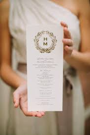 gold wedding programs 82 best weddings programs images on wedding ideas