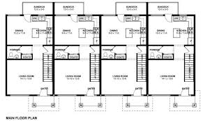 multi family house plans 3 unit multi family house plans home deco plans