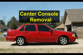 center console removal for shifter light bulb replacement volvo