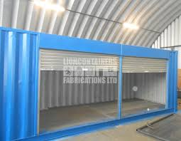 shipping container modifications lion containers fabrications ltd