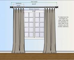Standard Window Curtain Lengths Standard Curtain Rod Lengths Eyelet Curtain Curtain Ideas