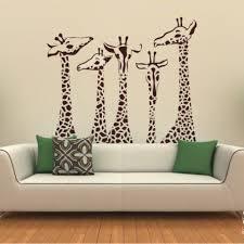 Giraffe Wall Decals For Nursery 36 Giraffe Family Wall Decal Giraffes 41 Orchard Nursery Wall