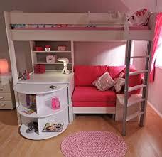 hochbett mit schreibtisch und sofa de stompa 4 white casa hochbett mit schreibtisch bett und