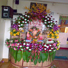 10 best ganpati decoration images on flower