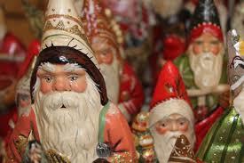 handmade german ornaments highlight vintage home s display