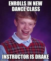 Drake New Album Meme - bad luck brian meme imgflip