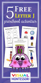 5 free preschool worksheets for preschool alphabet letter j