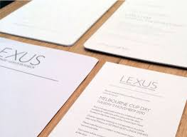lexus melbourne victoria lexus melbourne cup invitations sydney graphic design and